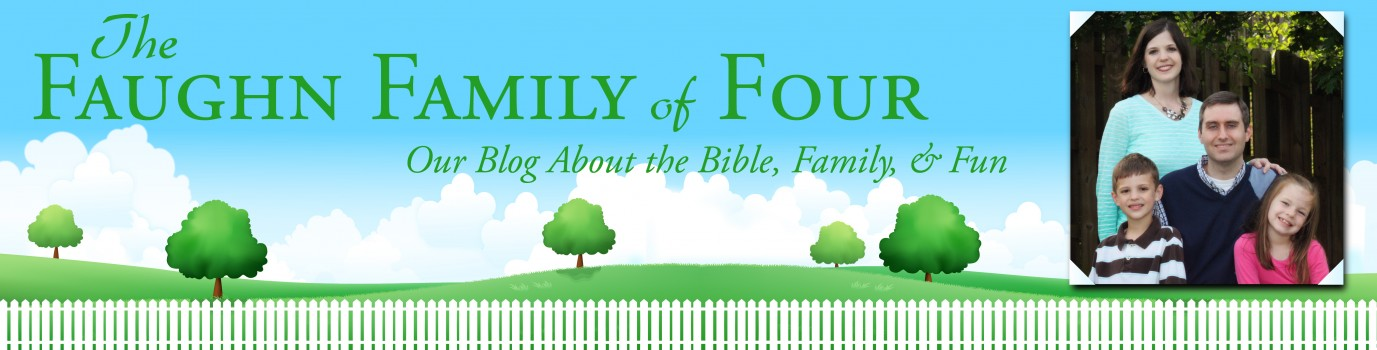 The Faughn Family of Four