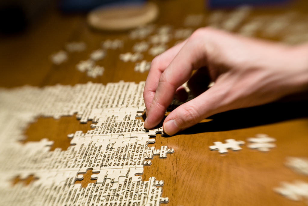 Fitting The Pieces Together In Life A Legacy Of Faith