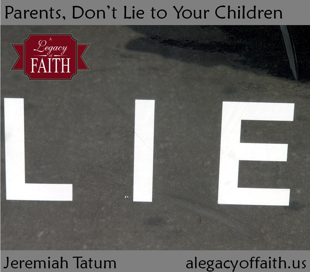 parents lie children