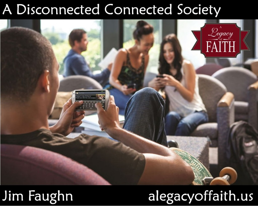 a disconnected connected society