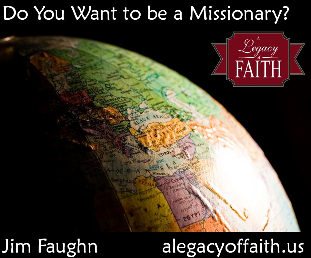 do you want to be a missionary