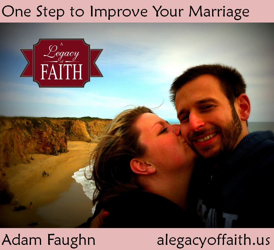 one step to improve your marriage