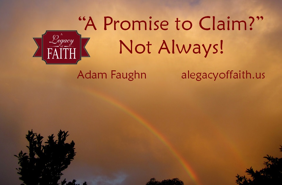 a promise to claim