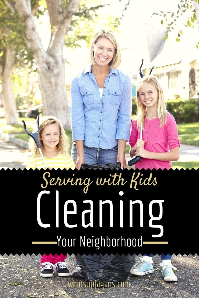 Serving-with-kids-to-Clean-up-the-neighborhood-683x1024